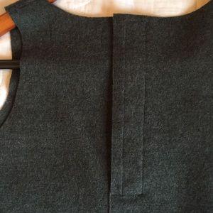 Jill Stuart.M soft, wool felt tank.